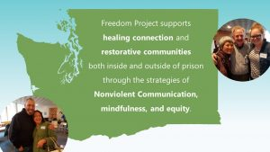 Freedom Project Supports Healing Connection and Restorative communities.